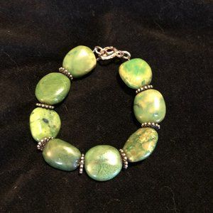 Artisan Crafted Turquoise Bracelet